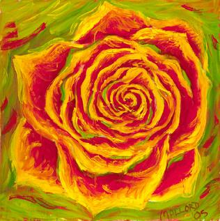 Liquid rose oil paintings lauri matisse