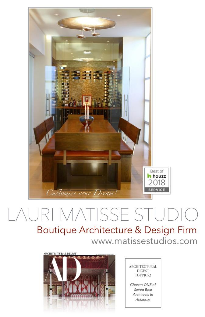 Architect Architectural Digest Arkansas Lauri Matisse